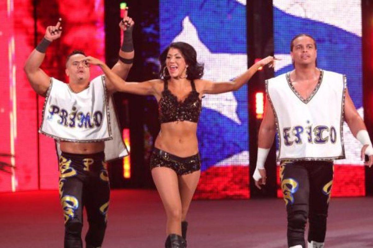 Antes de tomar el papel de Los Matadores, la pareja peleaba como Primo y Epico Foto:WWE. Imagen Por: