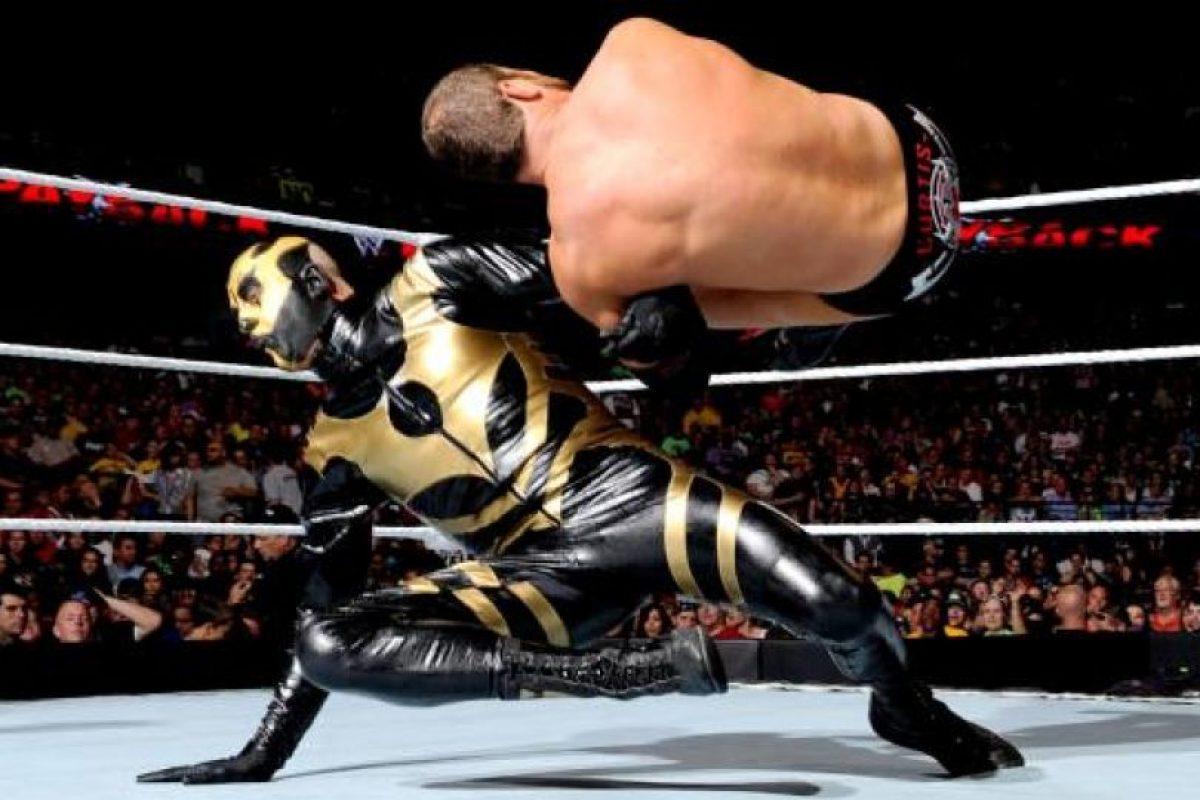 El veterano es famoso por su cara dorada Foto:WWE. Imagen Por: