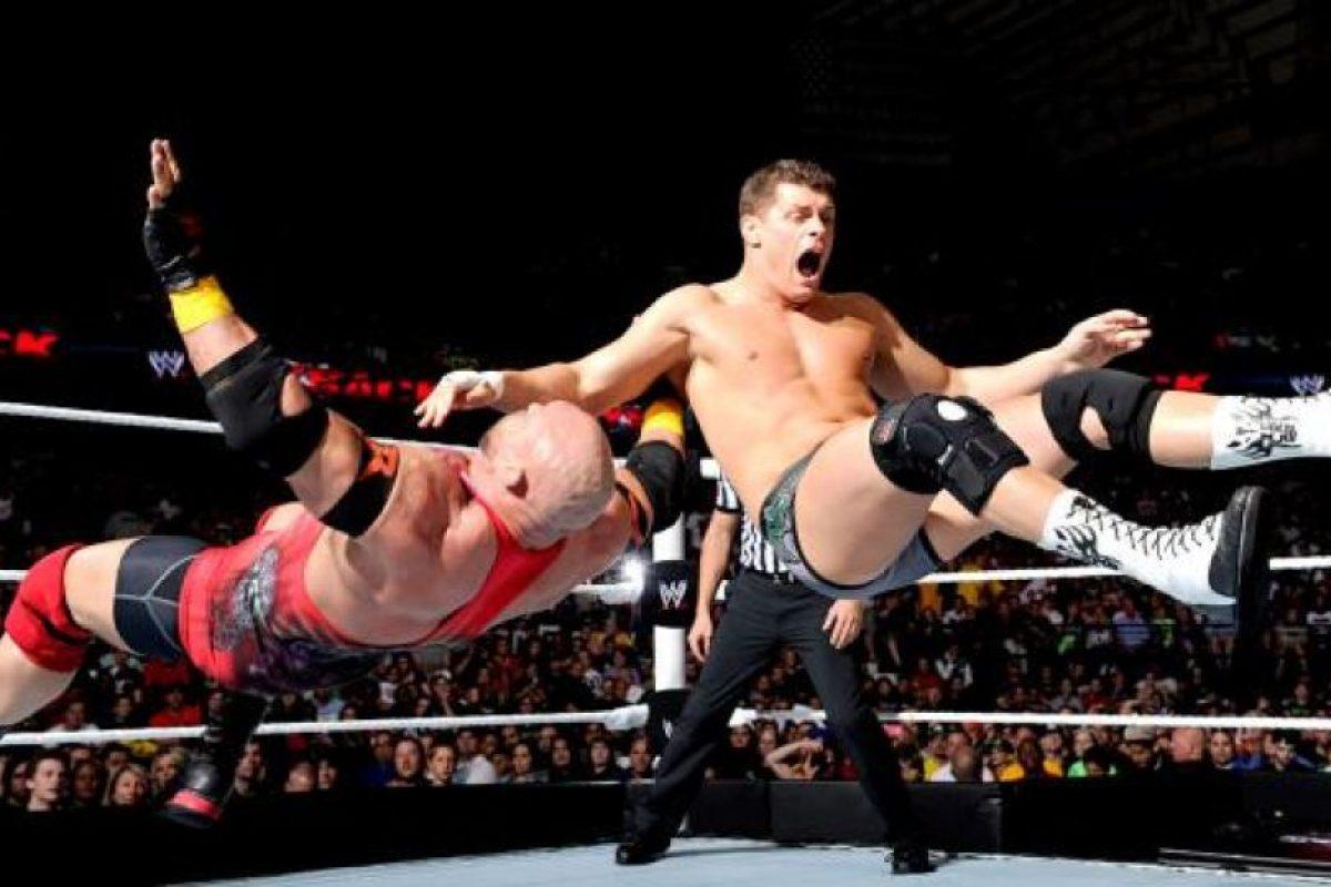 Antes peleaba bajo el nombre de Cody Rhodes Foto:WWE. Imagen Por: