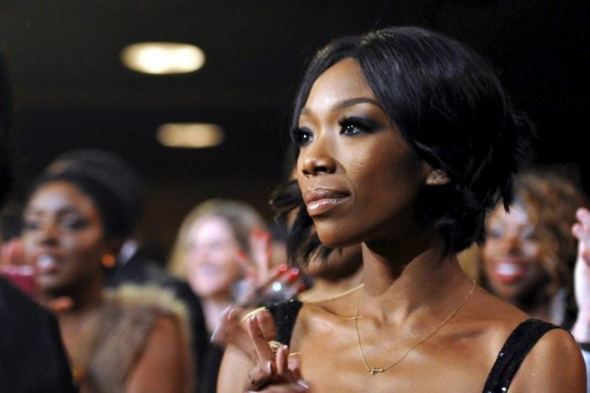 Brandy es una famosa cantante de pop y R&B Foto:Getty Images. Imagen Por: