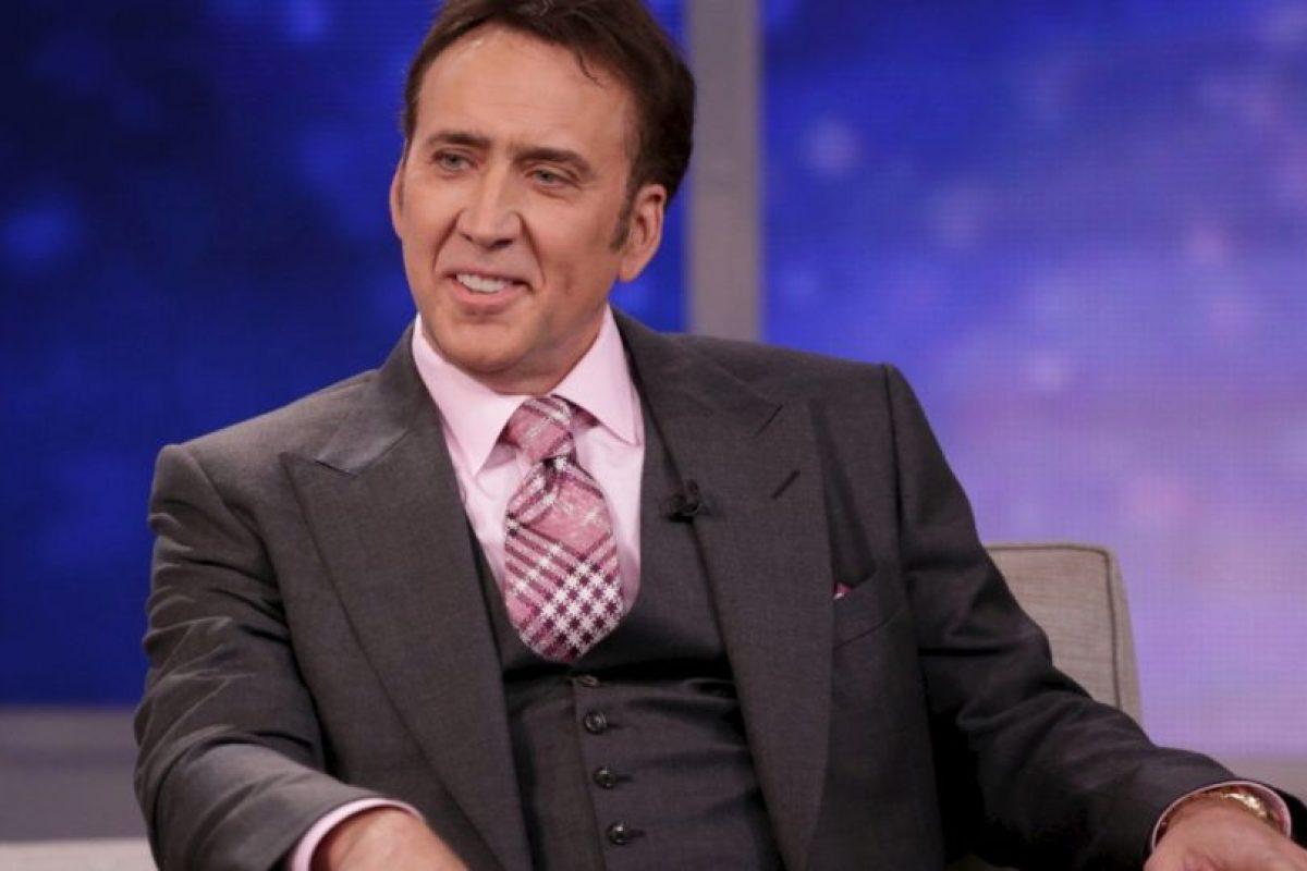 Nicolas Cage es sobrino segundo de Francis Ford Coppola Foto:Getty Images. Imagen Por: