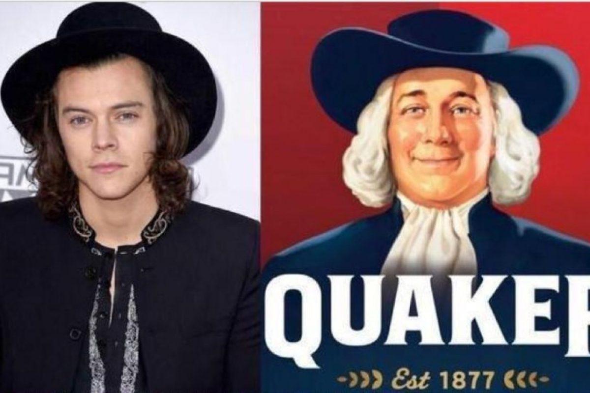 ¿Señor de la Avena Quaker? ¿Eres tú? Foto:Twitter. Imagen Por: