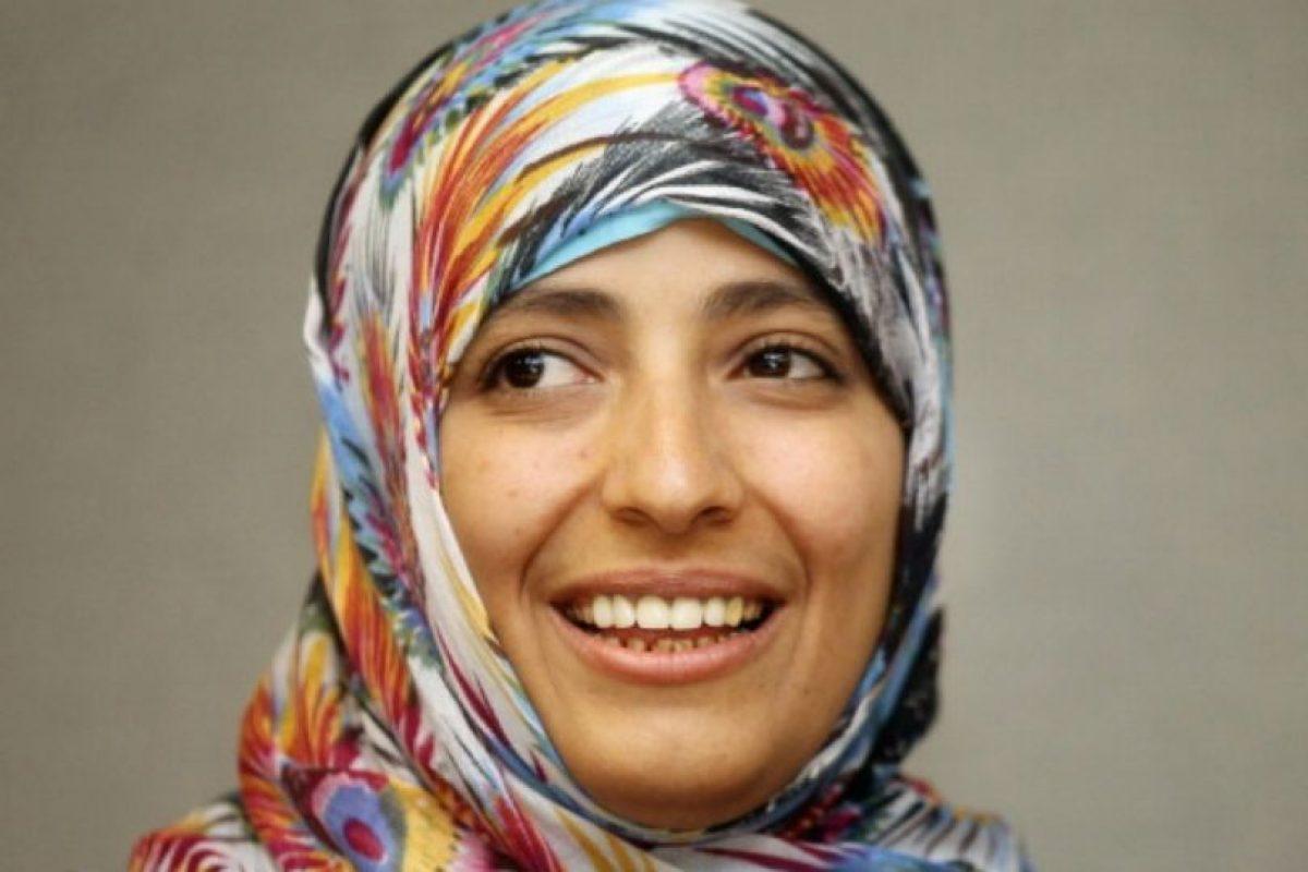 Tawakkul Karman es premio Nóbel de Paz 2011. Es periodista y activista política Foto:Getty Images. Imagen Por: