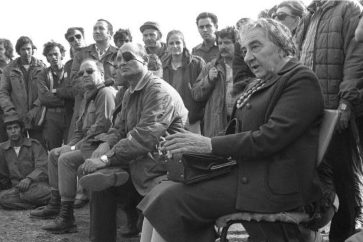 Golda Meir fue la primera ministra de Israel en los años 70 Foto:Wikipedia. Imagen Por:
