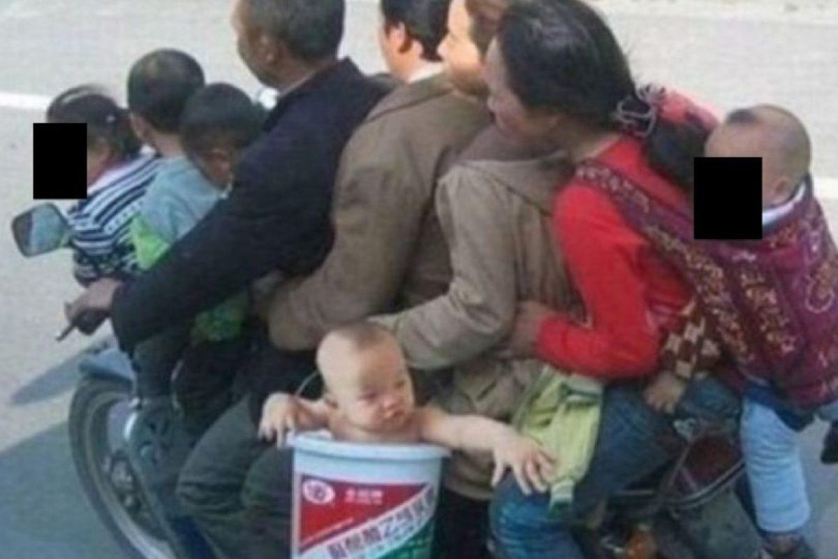 Hay moto para mucha gente Foto:Oddee. Imagen Por: