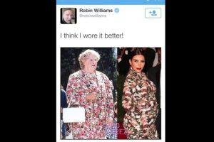 Robin Williams nunca pudo decirlo mejor. Genio. Foto:Twitter. Imagen Por: