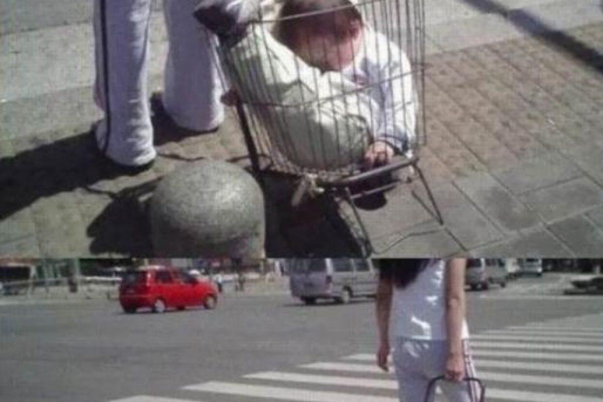 En un carrito de supermercado Foto:Imgur. Imagen Por: