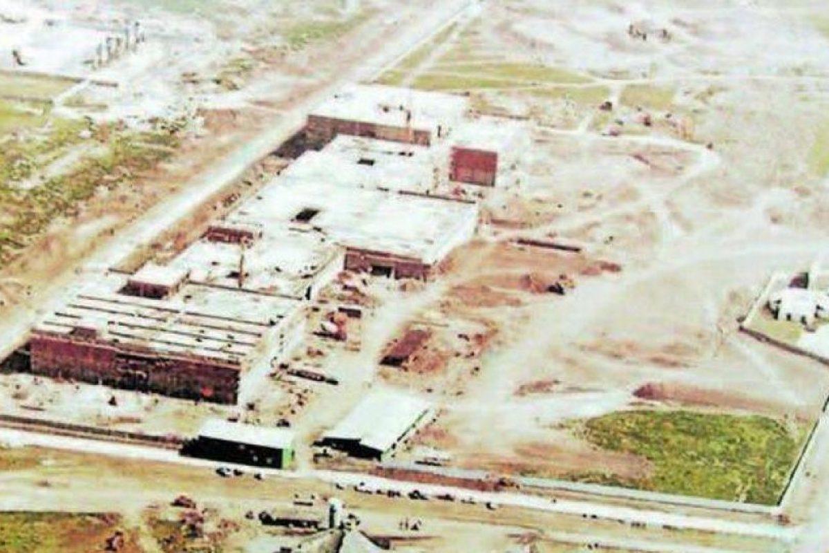 Panorámica aérea del Parque Arauco en construcción en el año 1979. Foto:Google Street View. Imagen Por: