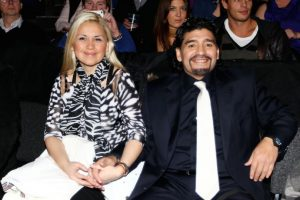 Verónica Ojeda y Diego Armando Maradona cuando estaban juntos. Foto:Getty Images. Imagen Por: