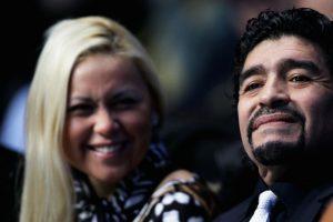 Verónica y Diego tienen un hijo, quien lleva el mismo nombre que su papá. Foto:Getty Images. Imagen Por: