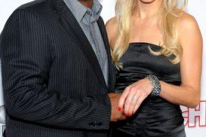 También se casó. Primero con Robin Stapler (2002-2006) y en 2012 con Angela Unkrich (foto) Foto:Getty Images. Imagen Por: