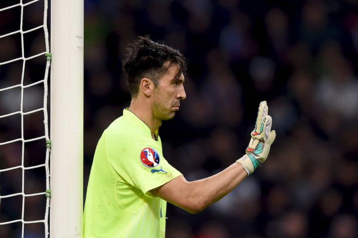 """Buffon fue llamado """"Pared"""" por el sueco Foto:Getty. Imagen Por:"""