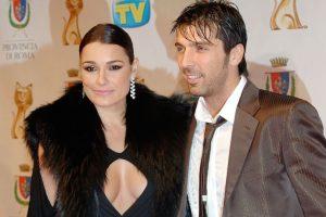 Gianluigi Buffon y Alena Šeredová. Foto:Getty Images. Imagen Por:
