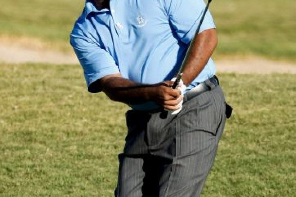 Durante este tiempo sin pantalla se dedicó a jugar golf Foto:Getty Images. Imagen Por: