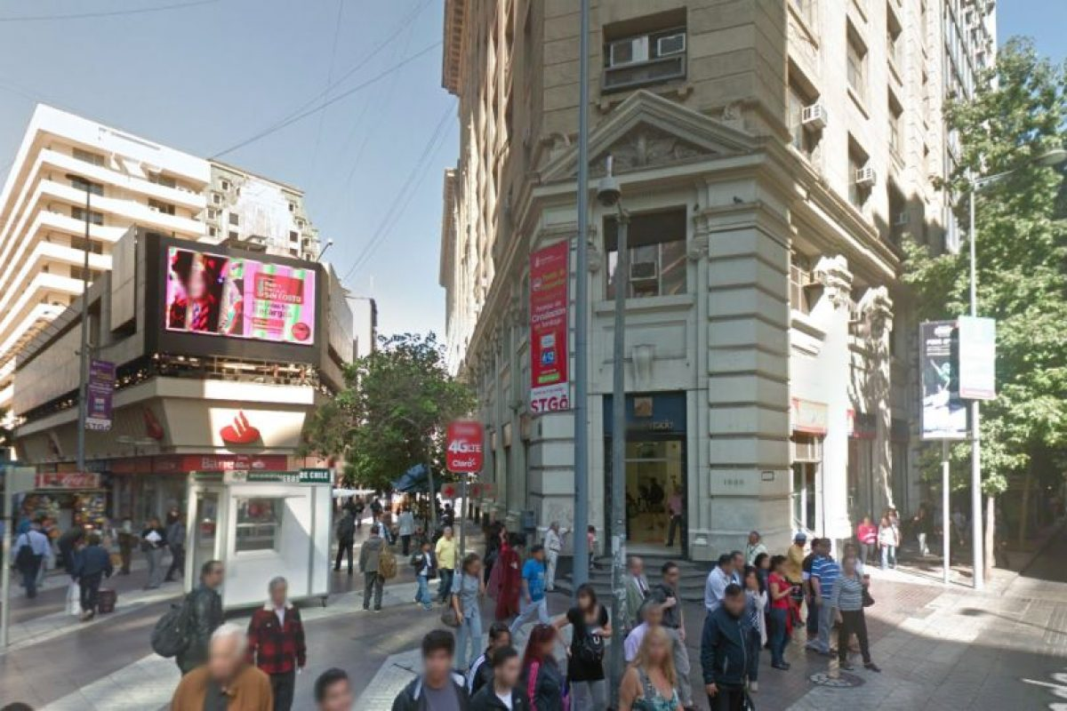 Y así está actualmente esta esquina Foto:Google Street View. Imagen Por: