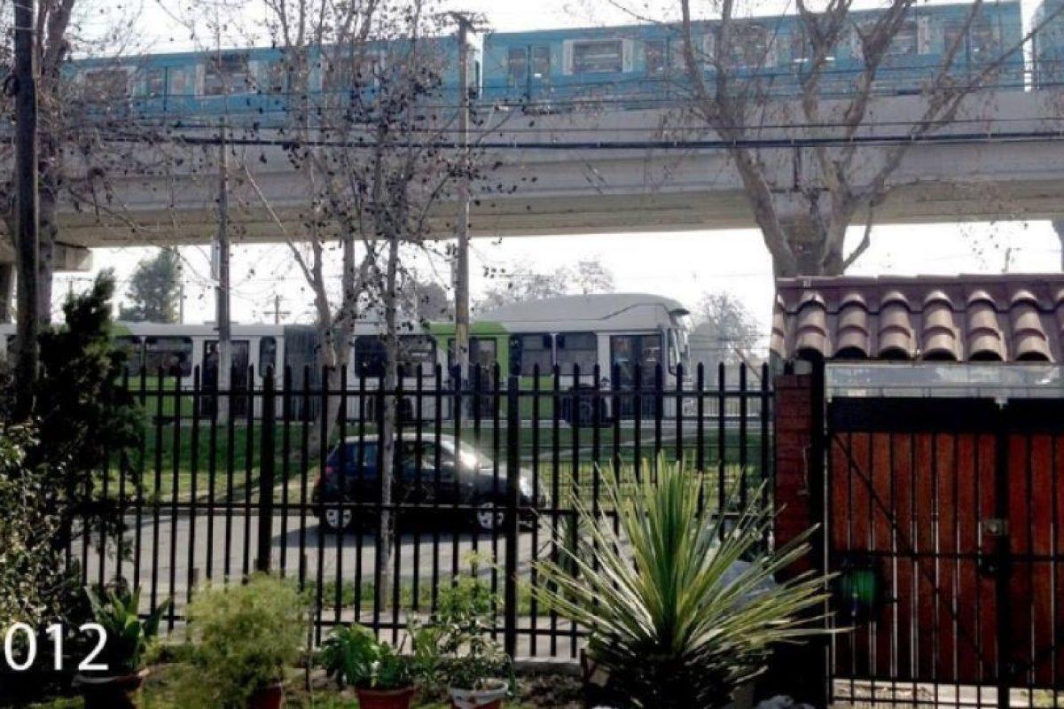 MAapú en el mismo punto con la llegada del Metro y Transantiago. Foto:Fotos Históricas de Chile. Imagen Por:
