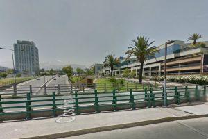 Con el paso del tiempo, esta es la imagen desde la esquina de avenida Kennedy con Padre Hurtado Foto:Google Street View. Imagen Por: