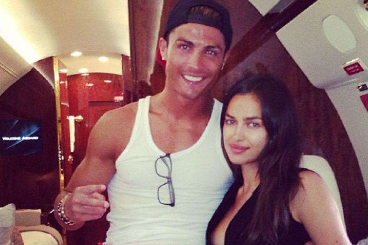 Y por supuesto su novia, Irina Shayk, es su fiel seguidora Foto:Instagram: @cristiano. Imagen Por: