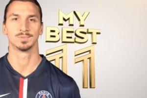 """""""Ibra"""" armó a su mejor equipo de todos los tiempos Foto:Youtube: PSG – Paris Saint-Germain. Imagen Por:"""