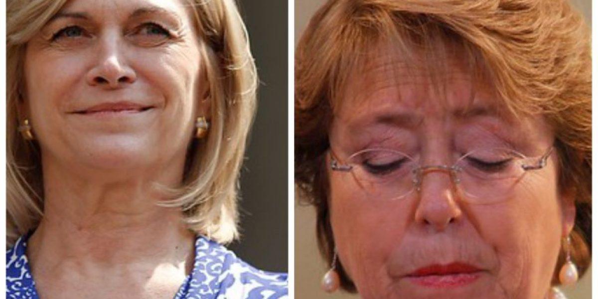 "Bachelet sobre dichos de Evelyn Matthei: ""No comparto esa manera de hacer política"""