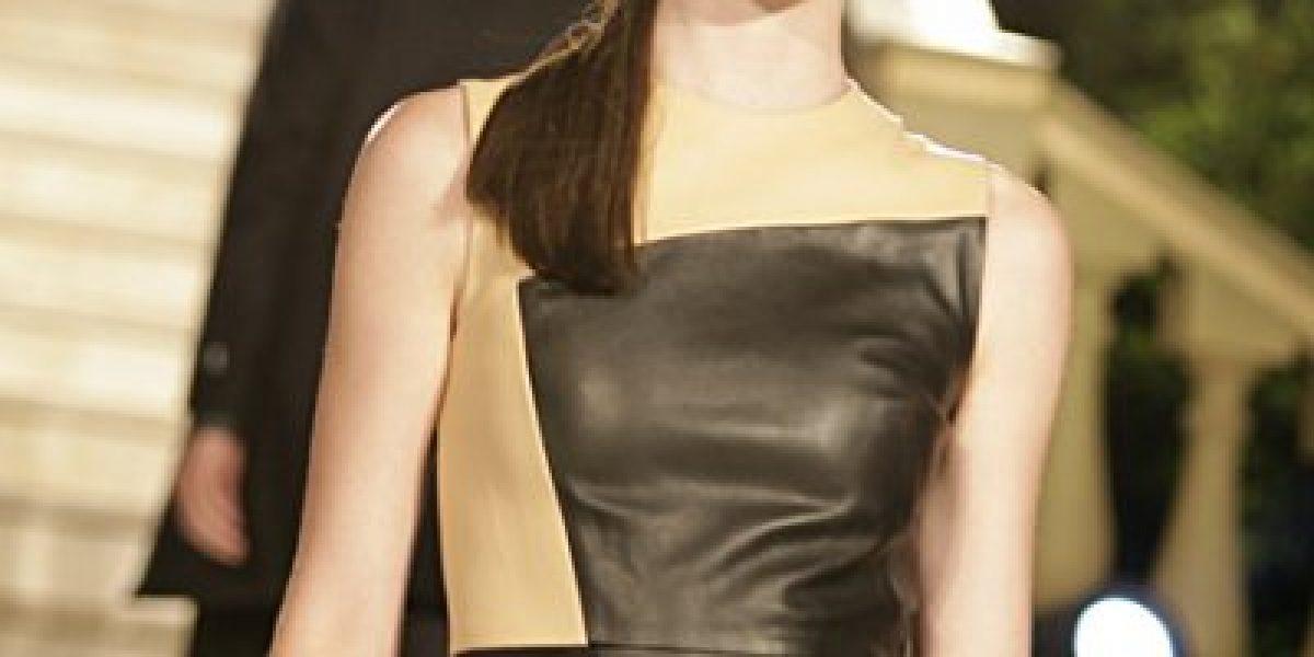 Tonka Tomicic encabezó glamoroso desfile de modas