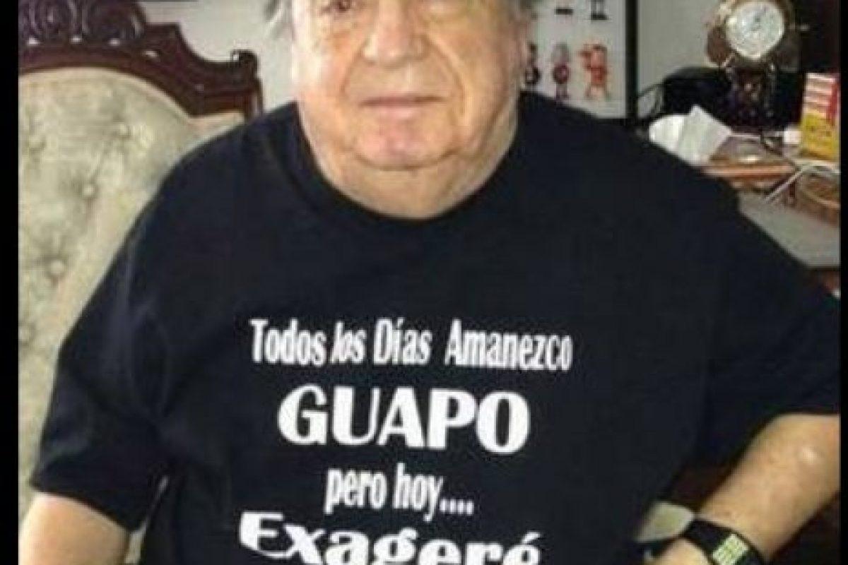 Este humorista tiene 85 años y sigue siendo popular entre sus fans Foto:Twitter/Chespirito. Imagen Por: