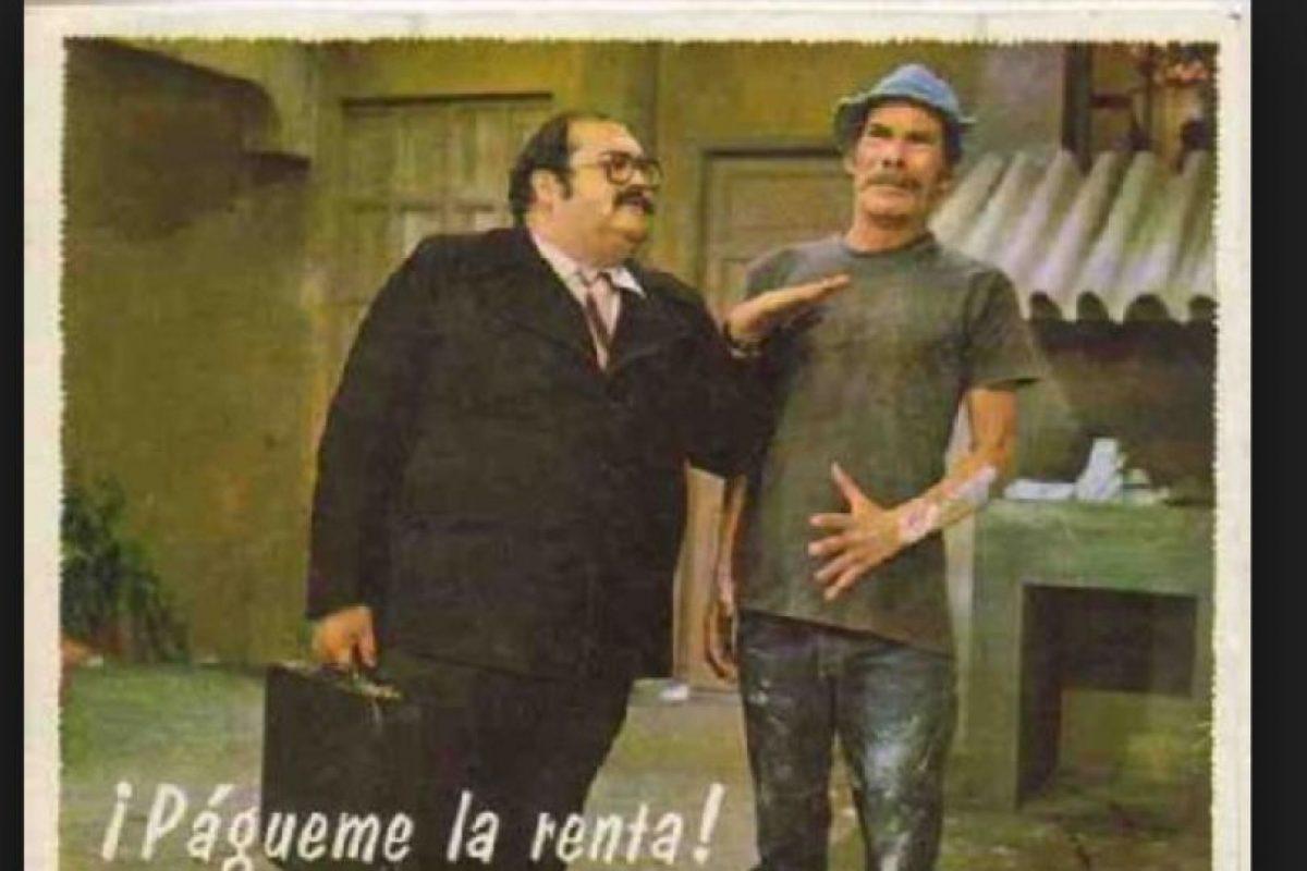 """Vivar tuvo severos problemas de salud por su peso. En 1992 tuvo que retirarse de """"El Chavo"""" por causa de esto. Foto:Tumblr. Imagen Por:"""