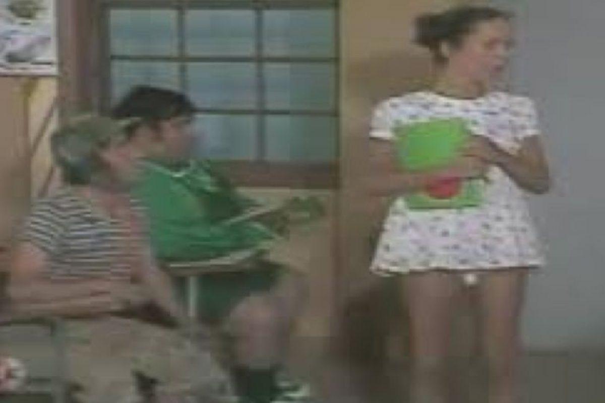 """Ana Lilian de la Macorra era """"Paty"""" el amor de El Chavo Foto:Televisa. Imagen Por:"""