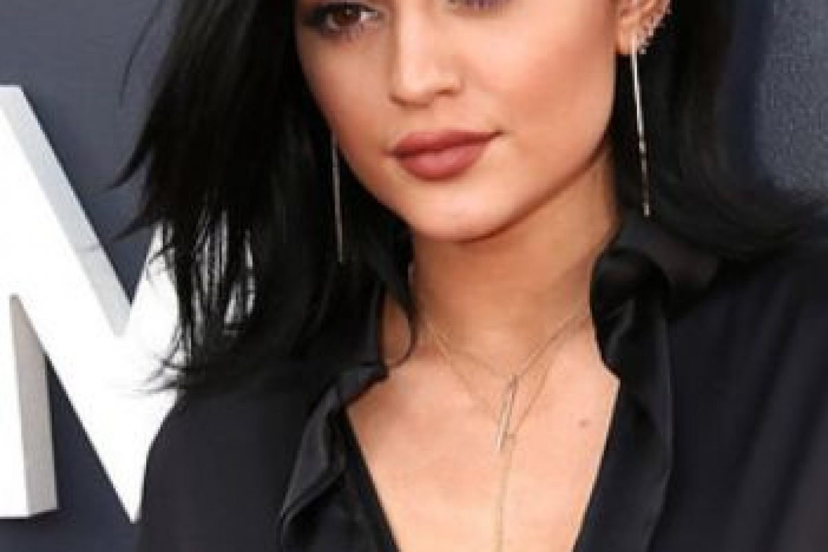Kylie Jenner tenía su cabello sin transformar Foto:Getty Images. Imagen Por: