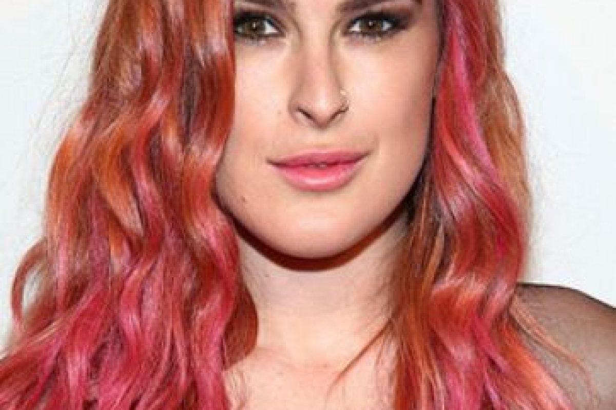 Rumer Willis tenía las mechas rosadas Foto:Getty Images. Imagen Por: