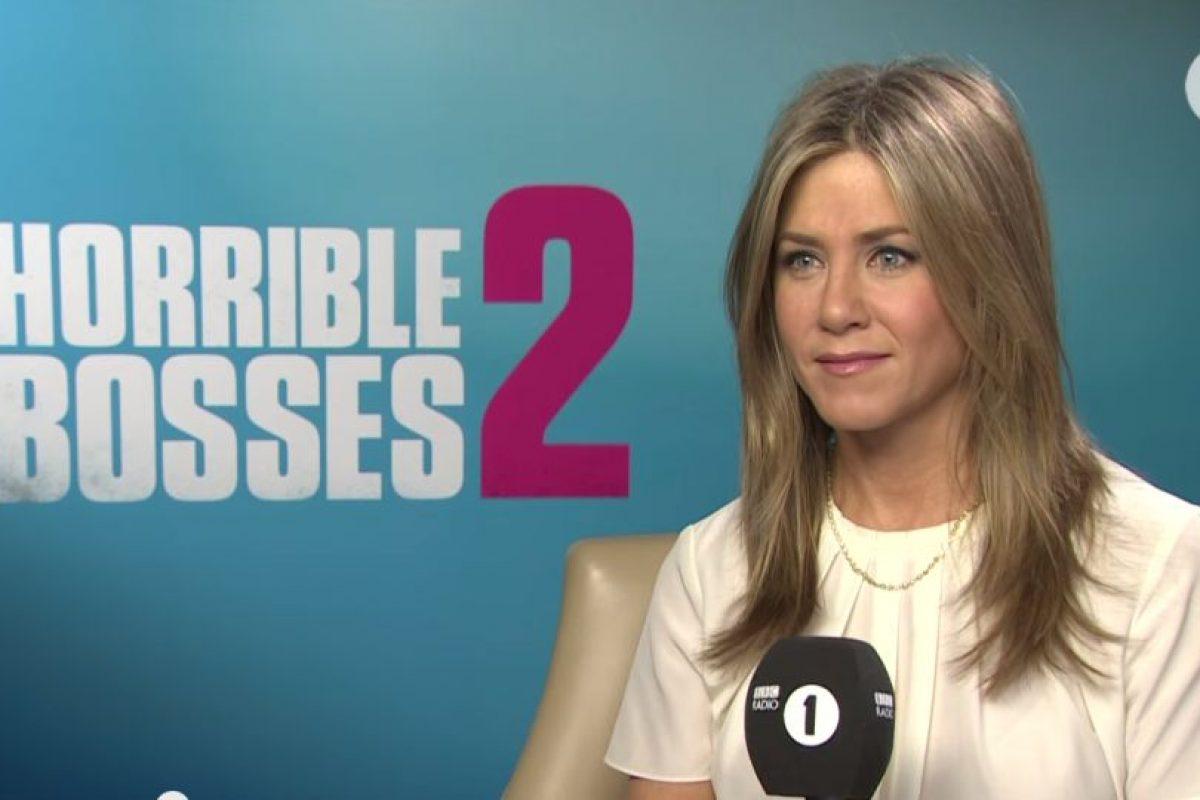 Aniston tiene dos medio hermanos, John Melick y Alex Aniston Foto:BBC Radio 1. Imagen Por: