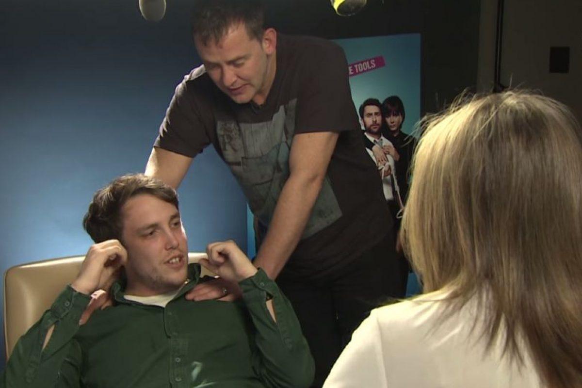 Chris Stark y Scott Mills Foto:BBC Radio 1. Imagen Por: