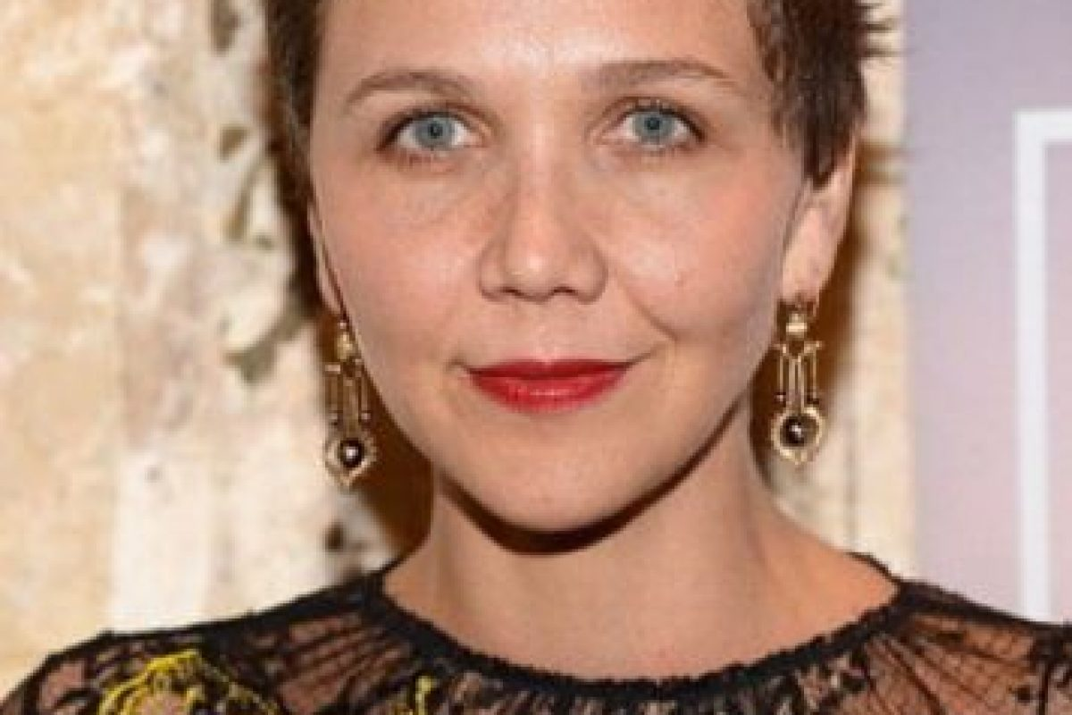 Maggie Gyllenhaal tiene un pixie Foto:Getty Images. Imagen Por: