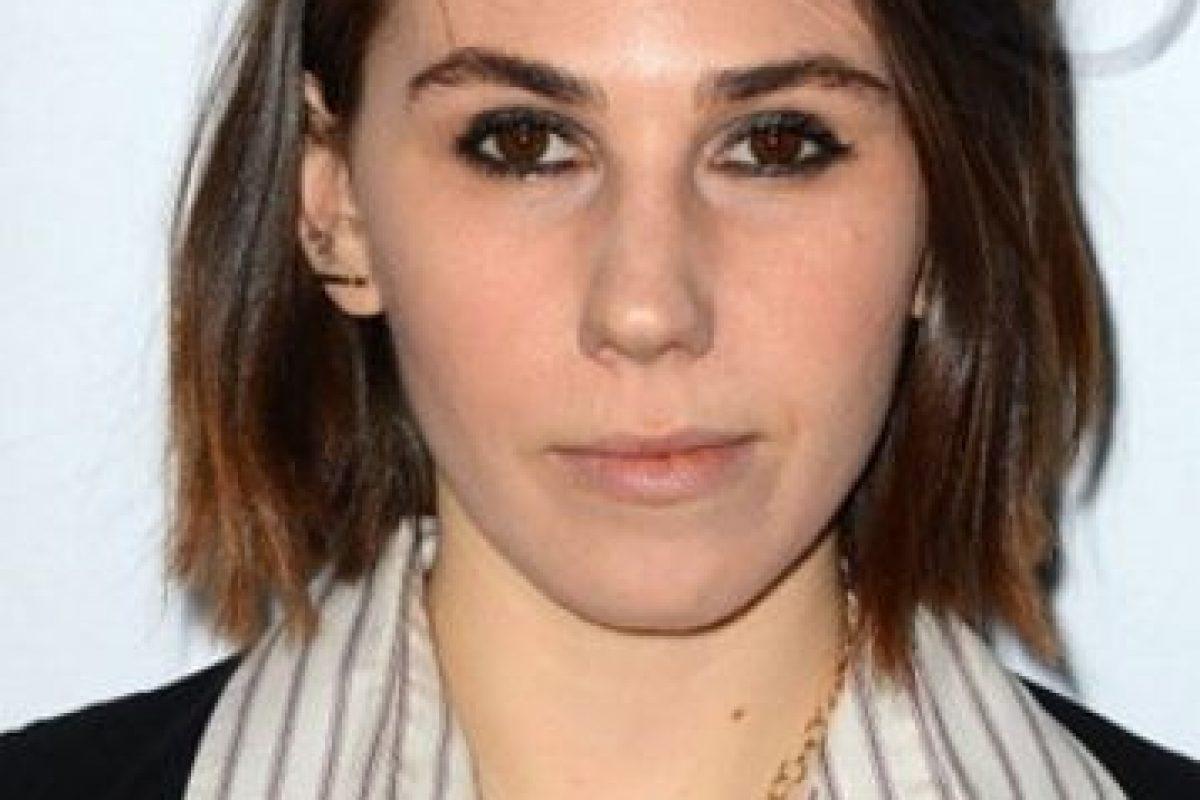 Zosia Mamet tenía el cabello castaño Foto:Getty Images. Imagen Por: