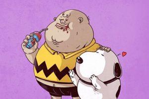 Charlie Brown & Snoopy Foto:Alex Solis. Imagen Por: