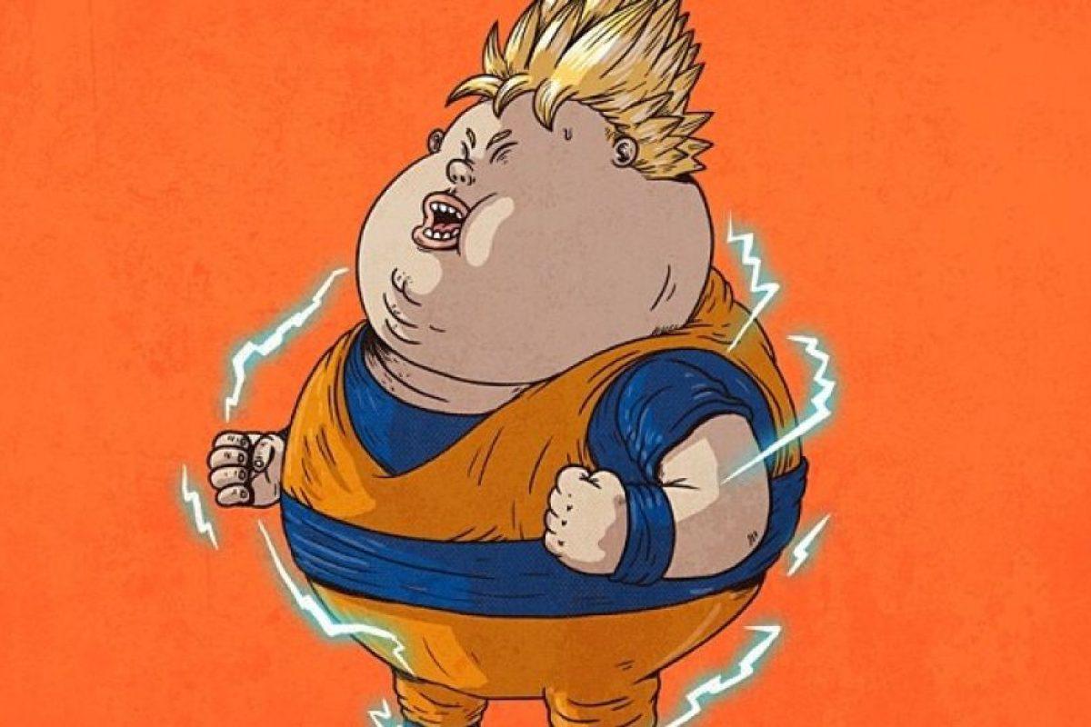 Goku Super Saiyan Foto:Alex Solis. Imagen Por: