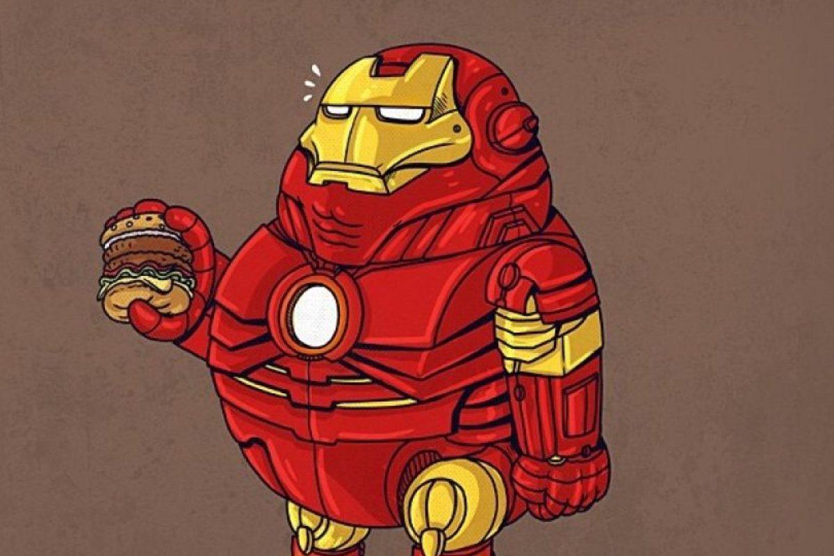 Iron Man Foto:Alex Solis. Imagen Por:
