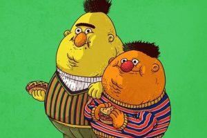 Bert & Ernie Foto:Alex Solis. Imagen Por: