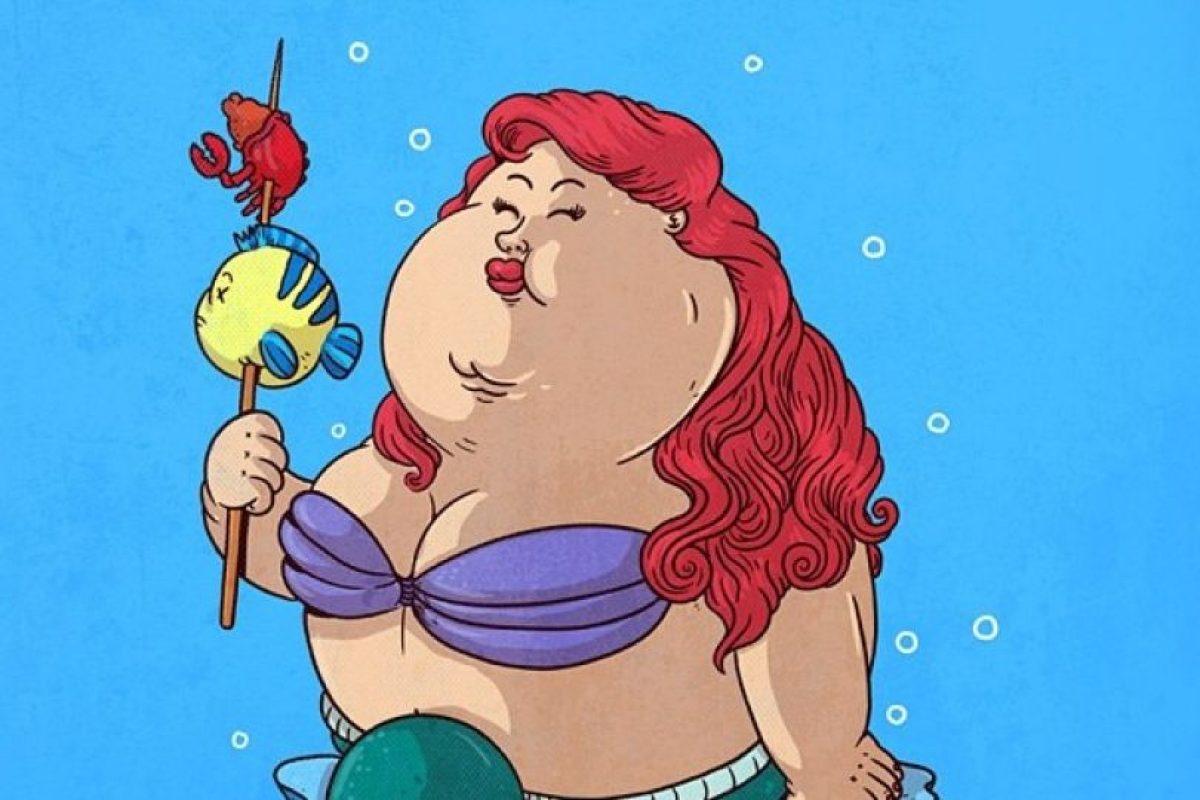 Lil Mermaid Foto:Alex Solis. Imagen Por: