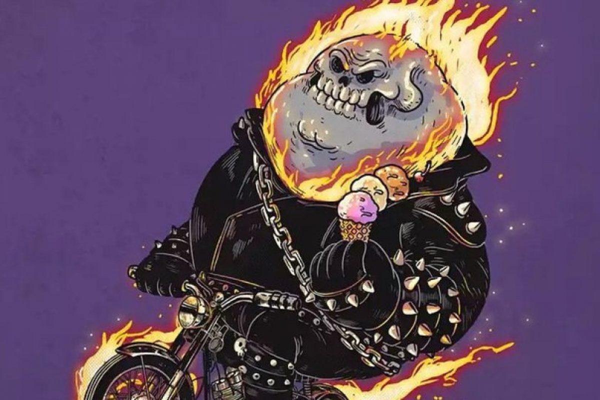 Ghost Rider Foto:Alex Solis. Imagen Por: