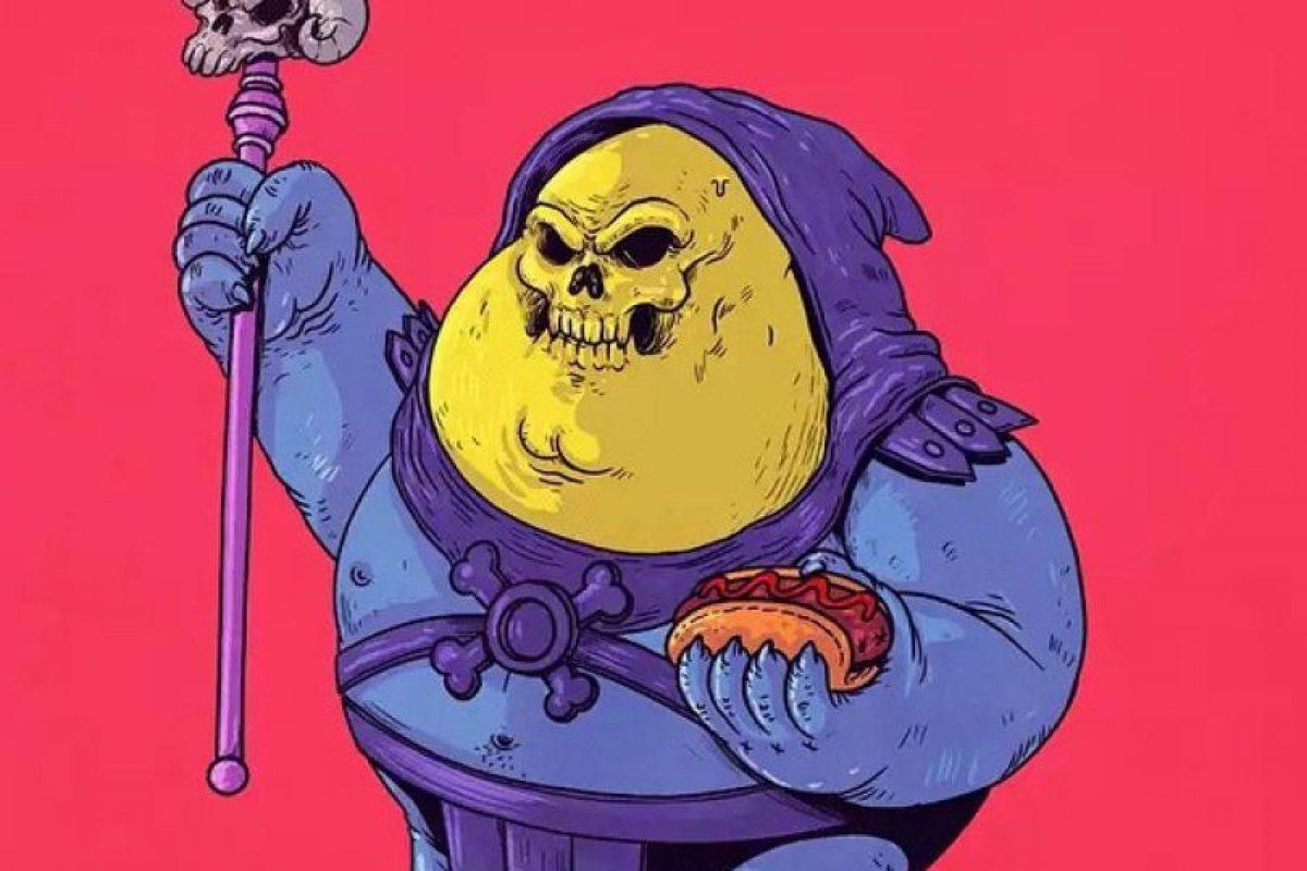 Skeletor Foto:Alex Solis. Imagen Por: