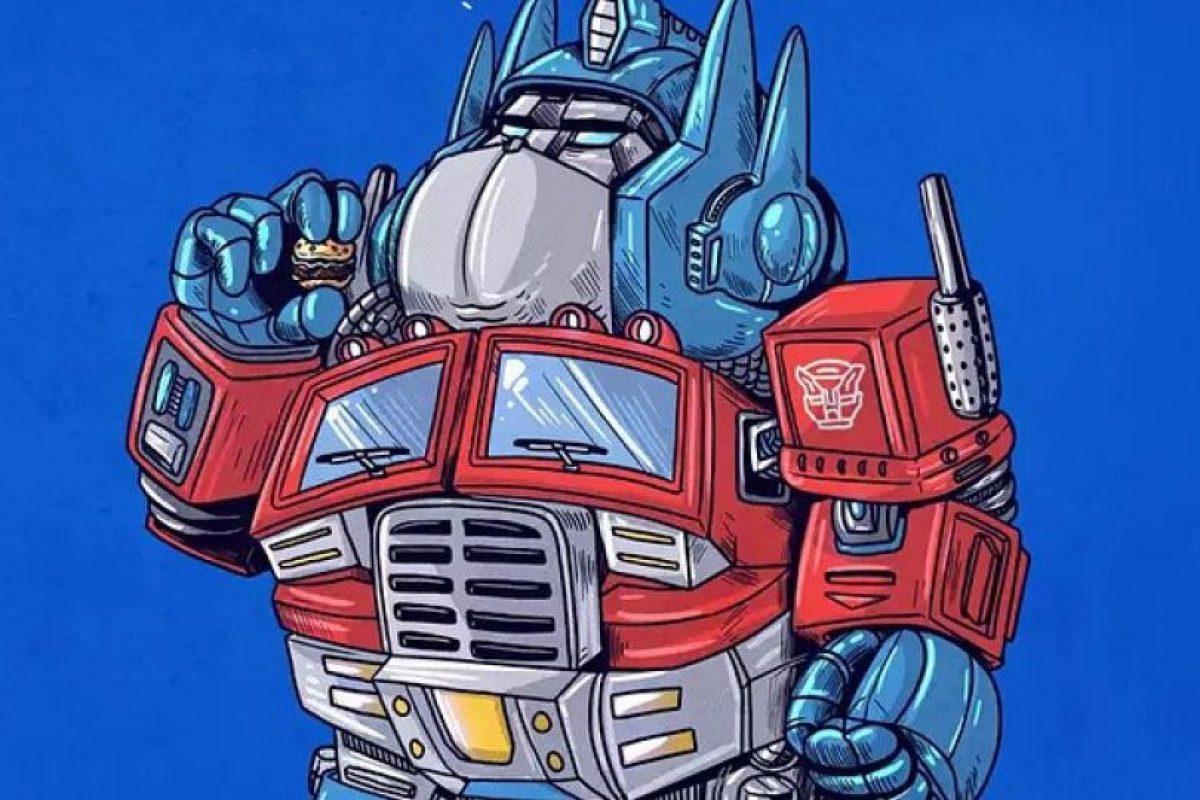 Optimus Prime Foto:Alex Solis. Imagen Por: