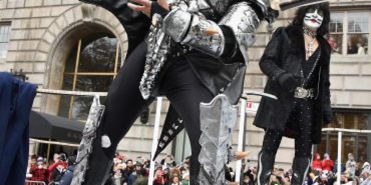 Con Kiss incluido desfile de Acción de Gracias maravilla a Nueva York