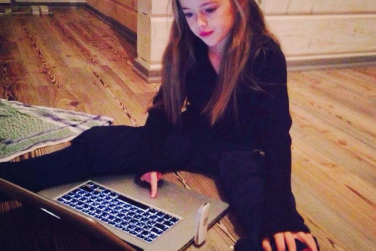 Además de modelar, Kristina practica gimnasia artística Foto:Facebook/KristinaPimenova. Imagen Por: