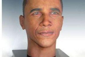 """Este busto con la imagen del presidente Obama es una muestra de los rostros impresos en 3D de """"Cremation Solutions"""" Foto:cremationsolutions.com. Imagen Por:"""
