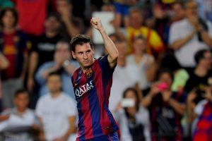 Messi rompió el récord como máximo goleador de la Champions Foto:Getty. Imagen Por: