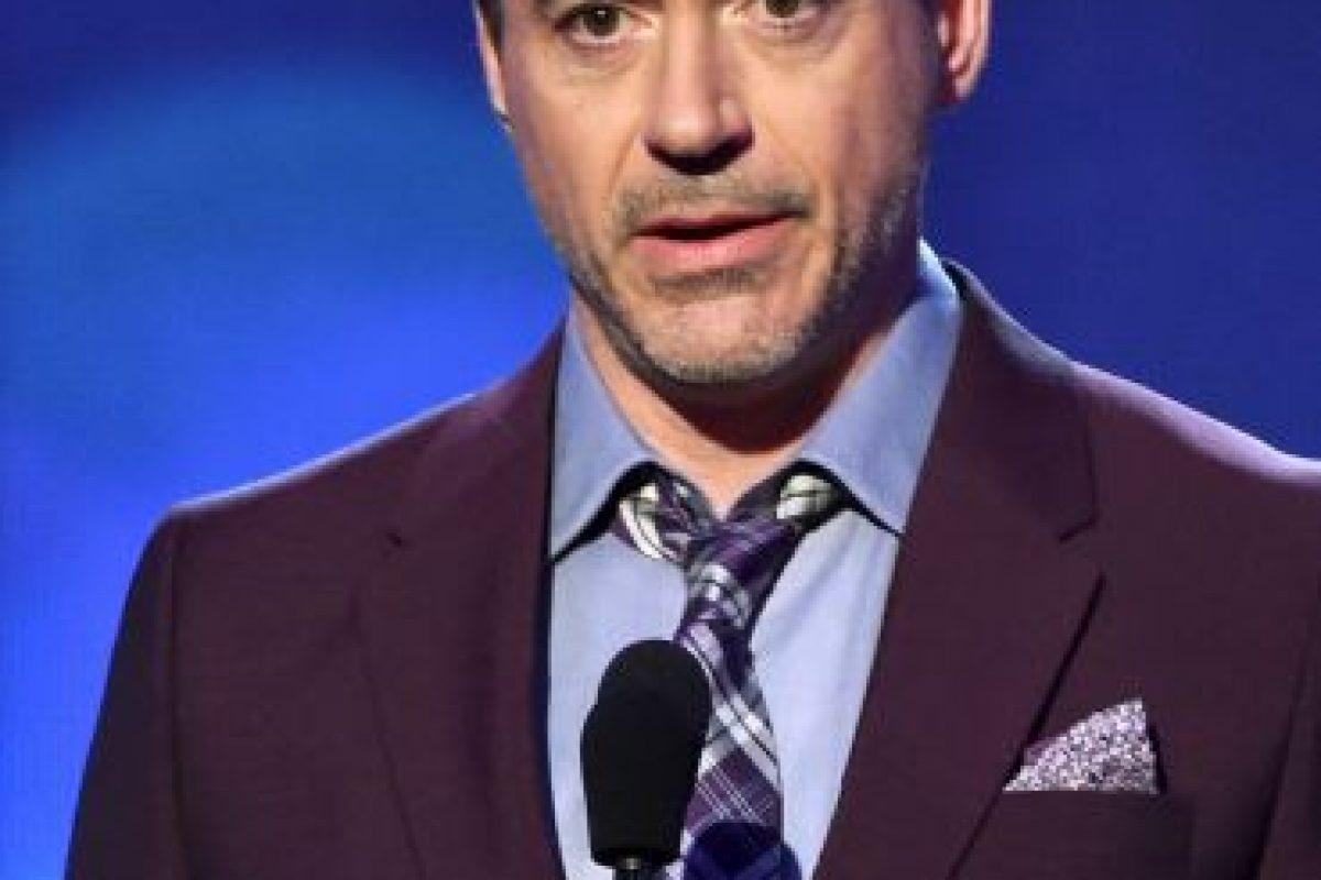 Robert Downey Jr Foto:Getty Images. Imagen Por: