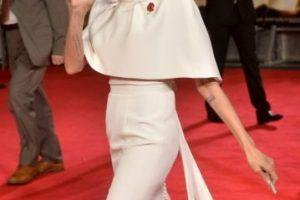 """Protagonizó la cinta """"Maléfica"""", además de que se casó con Brad Pitt Foto:Getty Images. Imagen Por:"""