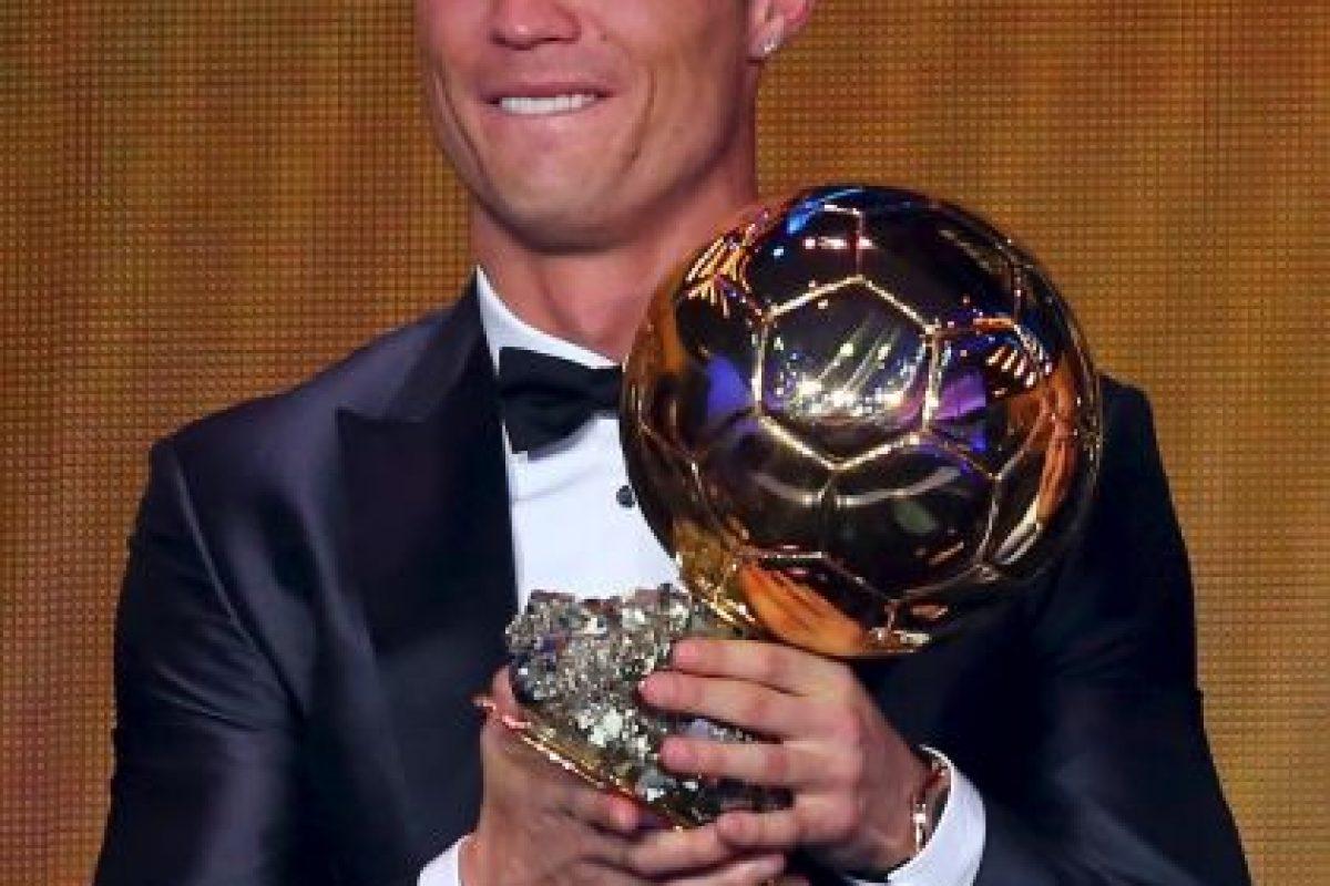 Y CR7 es el actual mejor jugador del mundo, según la FIFA Foto:Getty. Imagen Por: