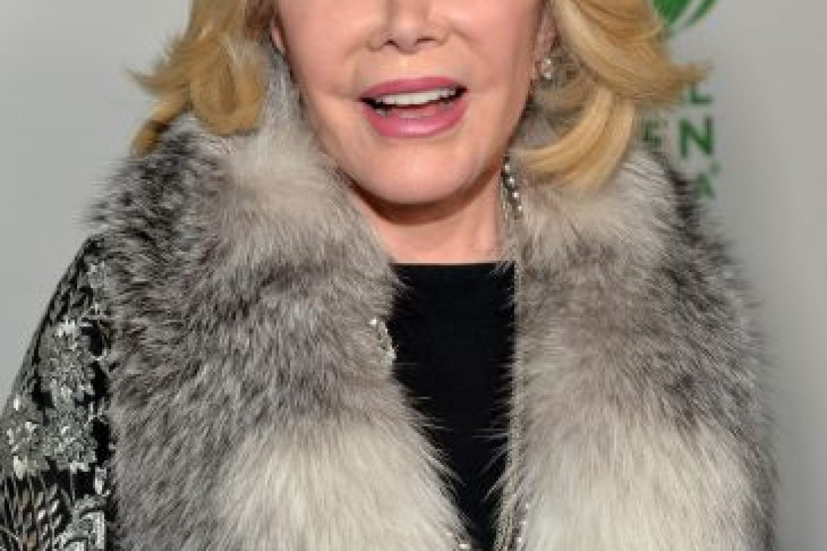Joan Rivers Foto:Getty Images. Imagen Por: